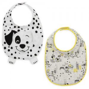 Lucky and Patch Bib Set - 101 Dalmatians