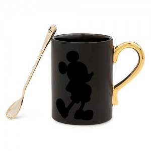 Mickey The True Original Mug and Spoon Set - Gold Collection