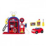 Mickey and the Roadster Racers Gas Station Playset