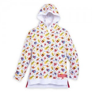 Mickey Mouse and Friends Celebration Pullover Hoodie for Girls - Disneyland