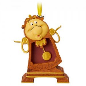Cogsworth Sketchbook Ornament - Beauty and the Beast