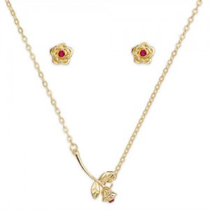 Belle Jewelry Set for Girls - Beauty and the Beast
