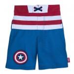Captain America Swim Trunks for Kids