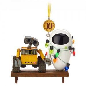WALL?E and E.V.E. Legacy Sketchbook Ornament - Limited Release