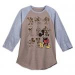Mickey Mouse Long Sleeve Raglan Shirt for Men