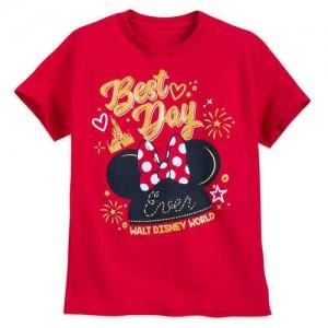 Minnie Mouse Best Day Ever T-Shirt for Kids - Walt Disney World