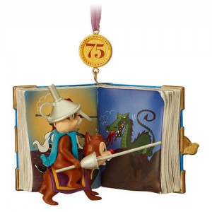 Chip n Dale Legacy Sketchbook Ornament - Limited Release