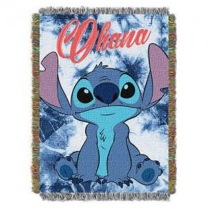Stitch Woven Tapestry Throw - Lilo & Stitch