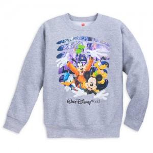 Mickey Mouse and Friends Burst Out Fleece Sweatshirt for Kids - Walt Disney World