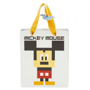 Mickey Mouse 8-Bit Gift Bag - Small