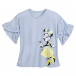 Minnie Mouse Yellow Dot T-Shirt for Women