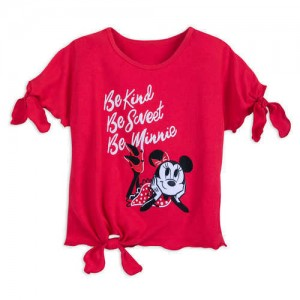 Minnie Mouse Tie Top for Girls