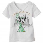 Minnie Mouse Statue of Liberty T-Shirt for Girls - New York City