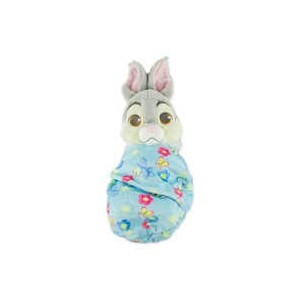 Thumper Plush with Blanket Pouch - Disneys Babies - Small