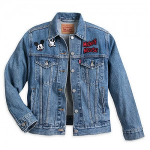 Mickey Mouse Denim Jacket for Women by Levis