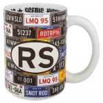 Radiator Springs License Plate Mug