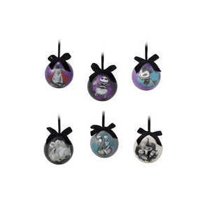 The Nightmare Before Christmas Ball Ornament Set