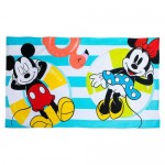 Mickey and Minnie Mouse Summer Fun Beach Towel