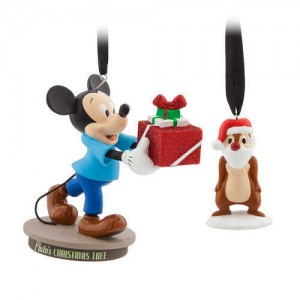 Mickey Mouse Through the Years Sketchbook Ornament Set - Plutos Christmas Tree - July - Limited Release