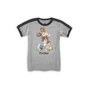 Mickey Mouse Soccer T-Shirt for Boys - Disneyland