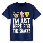 Disney Parks Here For The Snacks T-Shirt for Kids