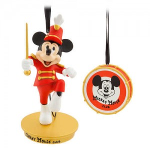 Mickey Mouse Through the Years Sketchbook Ornament Set - The Mickey Mouse Club - August - Limited Release