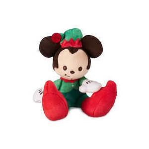 Mickey Mouse Holiday Tiny Big Feet Plush - Micro