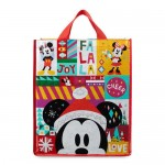 Santa Mickey and Minnie Mouse Holiday Tote