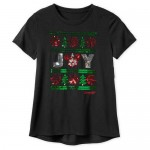 Mickey Mouse Icon Sequined Joy T-Shirt for Women - Disneyland