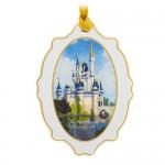 Cinderella Castle Medallion Ornament - Walt Disney World