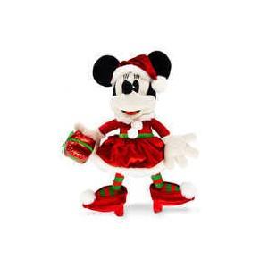 Minnie Mouse Holiday Plush - Medium