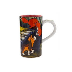 Tod and Copper Tall Mug - The Fox and the Hound