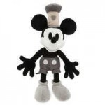 Mickey Mouse Plush - Steamboat Willie - Medium