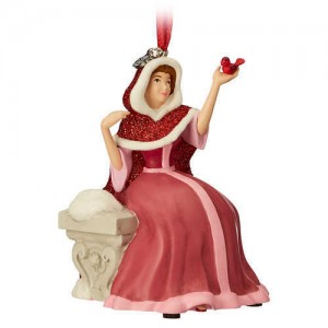 Belle Singing Sketchbook Ornament - Beauty and the Beast