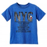 Mickey Mouse New York Boroughs T-Shirt for Boys
