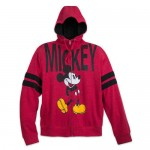Mickey Mouse Zip-Up Hooded Fleece for Adults