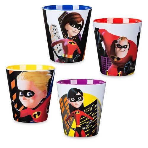 디즈니 Incredibles 2 Cup Set