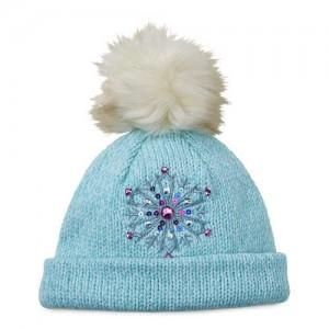 Frozen Knit Bobble Hat for Kids
