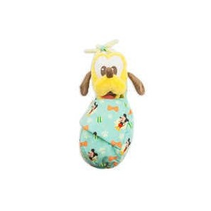 Pluto Plush in Pouch - Disney Babies - Small
