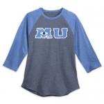 Monsters University Long Sleeve Raglan Shirt for Men
