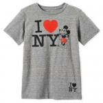 Mickey Mouse I ♥ New York T-Shirt for Boys - New York City