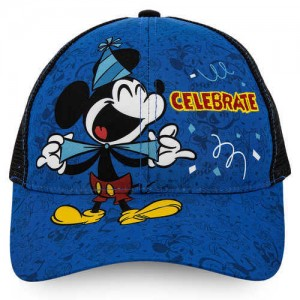 Mickey Mouse Celebrate Baseball Cap for Kids