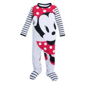 Minnie Mouse Stretchie Sleeper for Baby