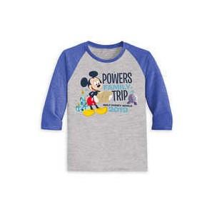 Mickey Mouse Family Vacation Raglan Shirt for Kids - Walt Disney World 2019 - Customized