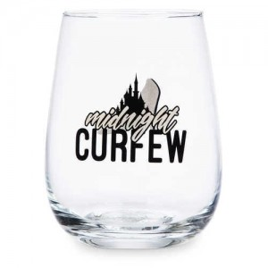Cinderella Stemless Wine Glass