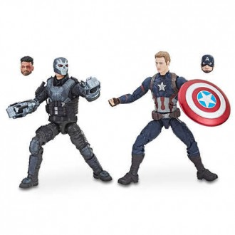 Captain America and Crossbones Action Figures - Legends Series - Marvel Studios 10th Anniversary