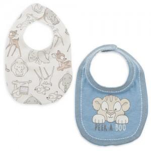 Disney Classics Reversible Bib Set for Baby