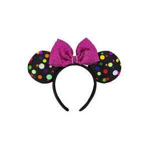Minnie Mouse Multi-Color Polka Dot Ear Headband
