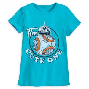 BB-8 The Cute One T-Shirt for Girls - Star Wars