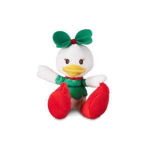 Daisy Duck Holiday Tiny Big Feet Plush - Micro